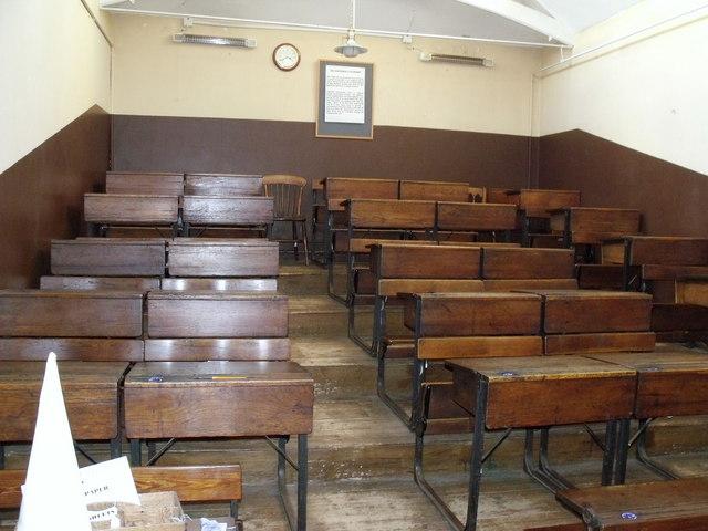 Klassischer Schulraum